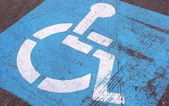 Място за паркиране за инвалиди