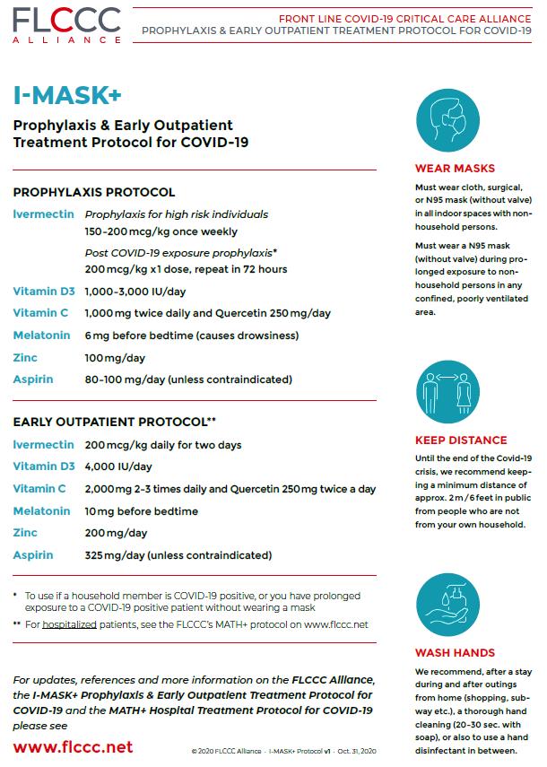 Протокол за профилактика и домашно лечение на COVID-19