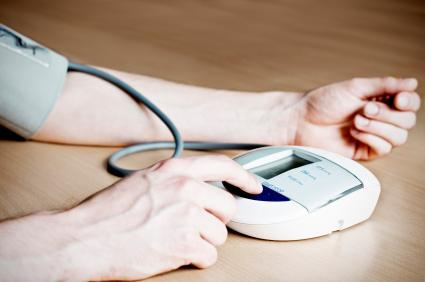 Електронен апарат за измерване на артериалното налягане