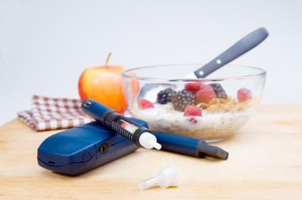 Глюкомер, инсулинова писалка, диетично меню