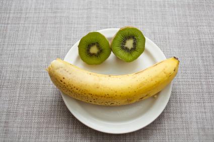 Бананите заемат водещо място в класацията на храните за подобряване настроението