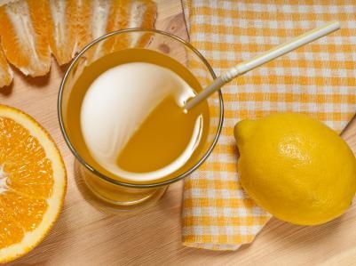Сок от прясно изцедени цитрусови плодове